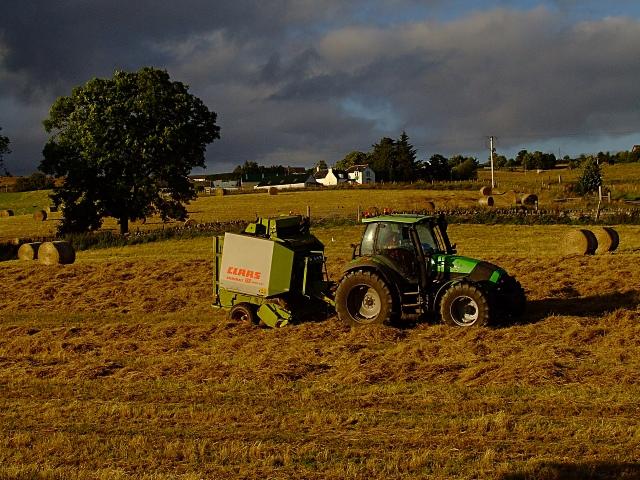 Baling up the Hay