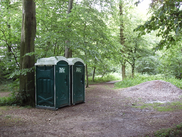 Lavatories, Aston Rowant National Nature reserve