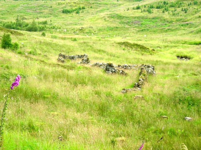 Building Remains From Aoineadh Mor Cleared Township