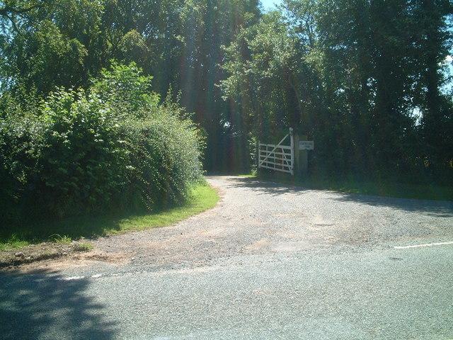 Entrance to Faintree Hall Farm