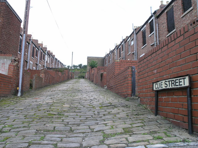 Clive Street.