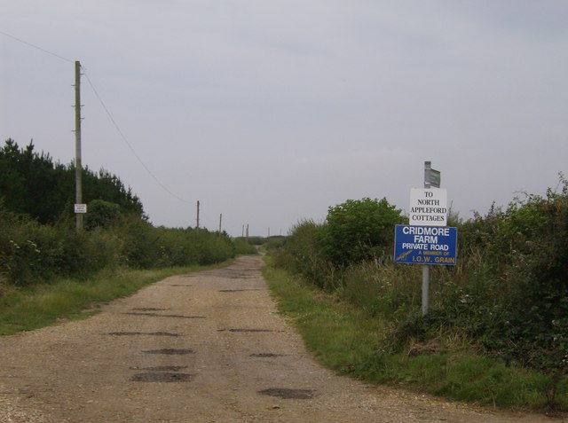 Towards North Appleford