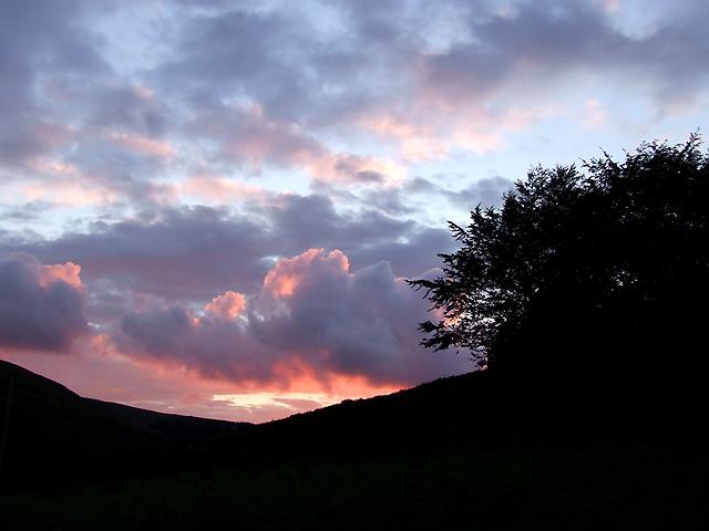 Doethie Sunset, Ceredigion