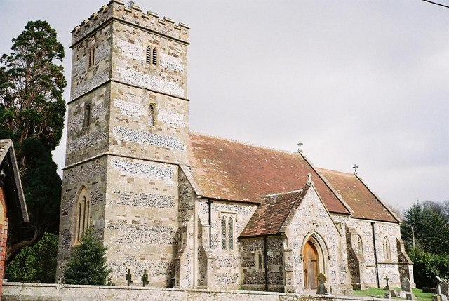 Hinton Martell: parish church of St. John the Evangelist
