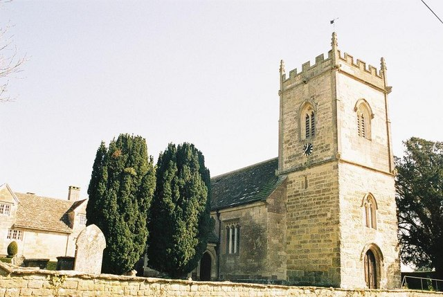 Hinton St. Mary: parish church of St. Peter