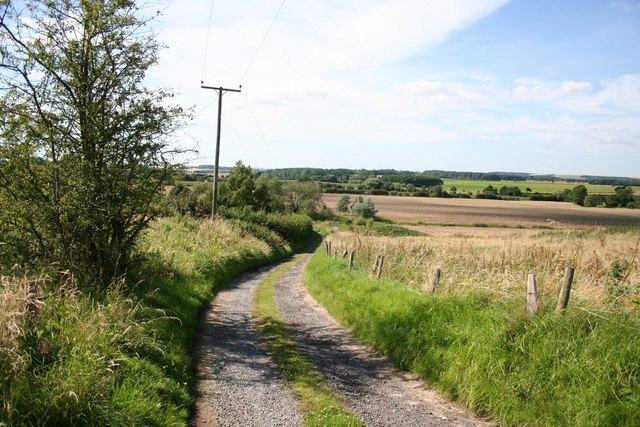 Track to Vale Farm