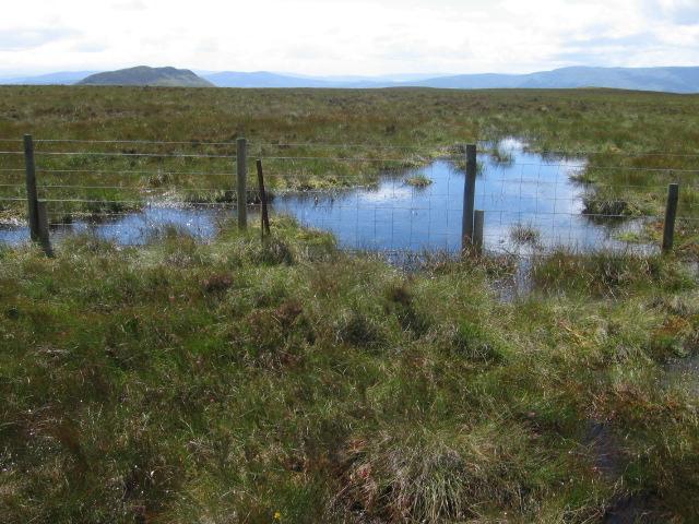 Moorland below Gualann