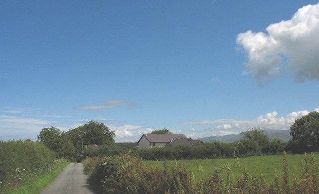 The farmhouse of Rhyd-y-delyn Bach