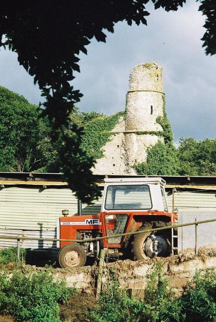 Holditch: tower in the farmyard