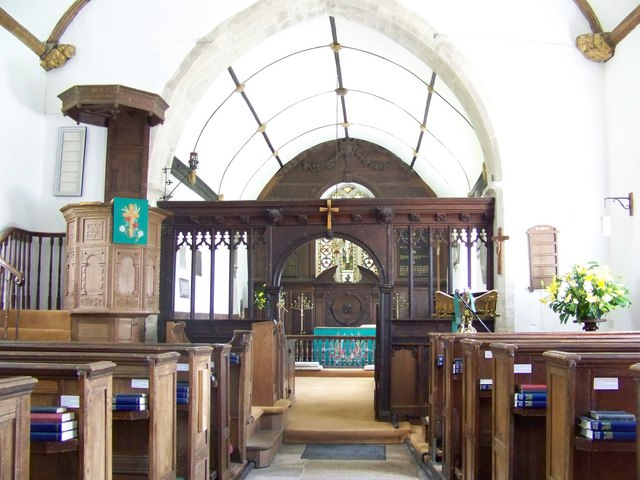 St Lawrence Church, Stratford-sub-Castle - Interior