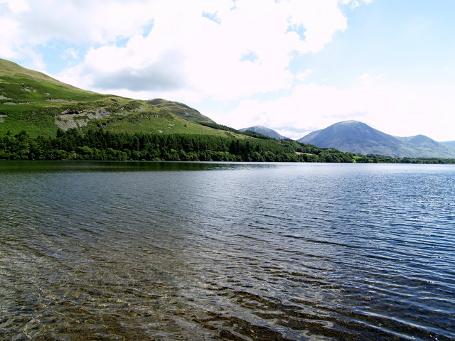 On the shore of Loweswater