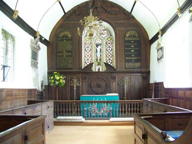St Lawrence Church, Stratford-sub-Castle - Interior