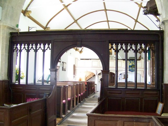 St Lawrence Church, Stratford-sub-Castle - Screen