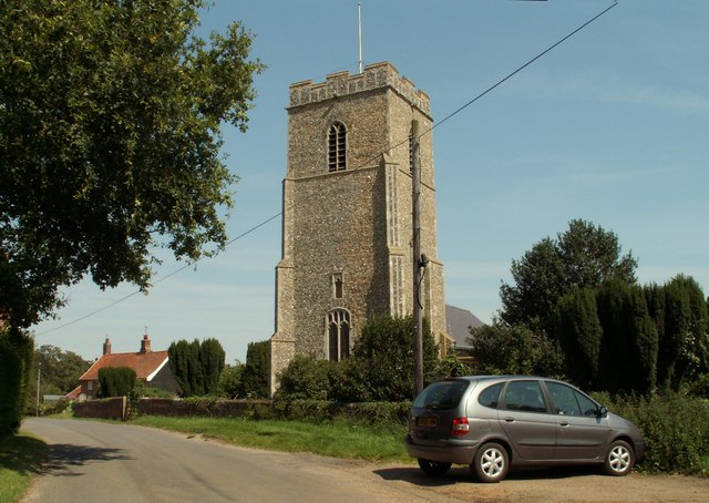 All Saint's church at Great Glemham