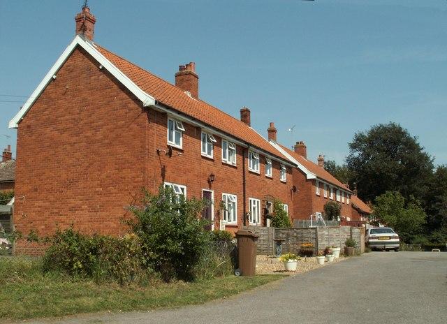 Houses at Great Glemham
