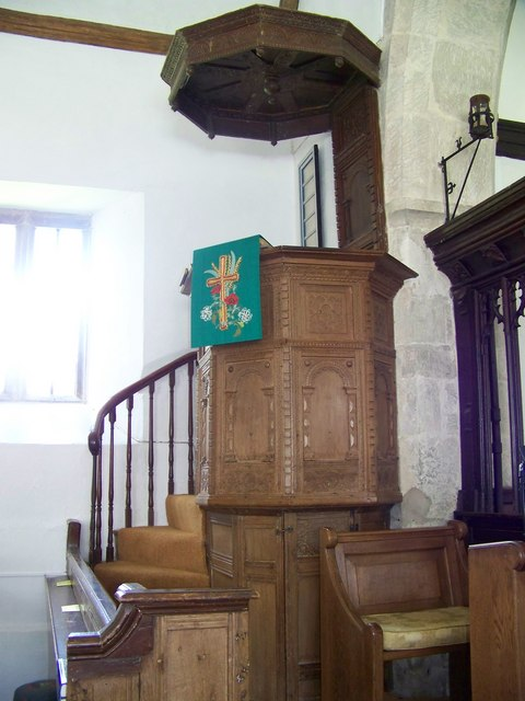 St Lawrence Church, Stratford-sub-Castle - Pulpit
