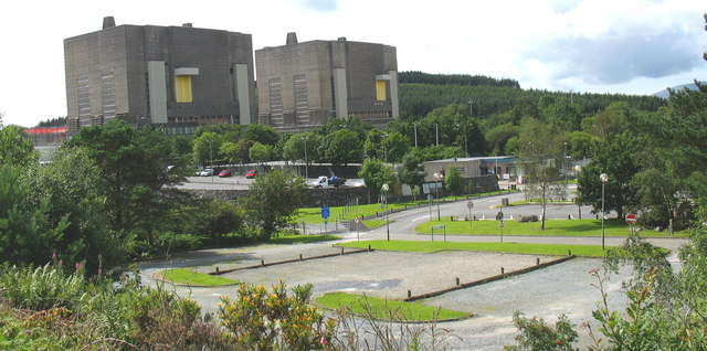 Decommissioned reactors and empty car parks