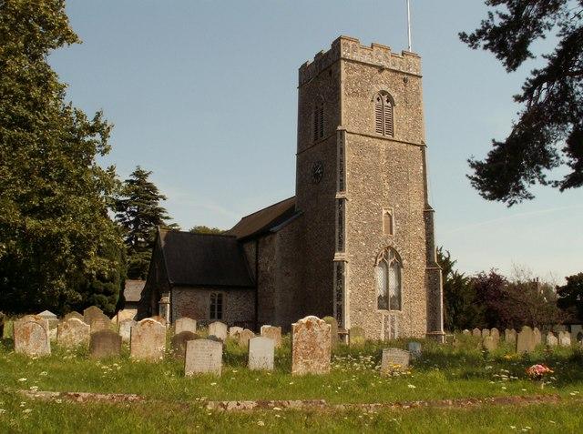 St. Michael's church at Rendham