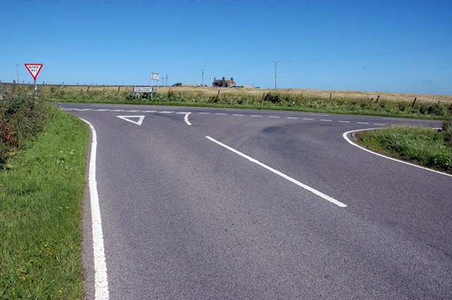 Junction of Stromness and Birsay-Dounby roads