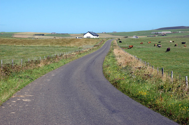 The Hundland road, Birsay