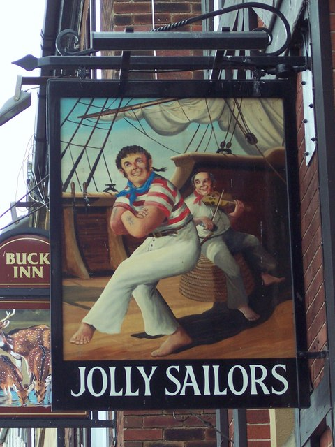 Sign for the Jolly Sailors
