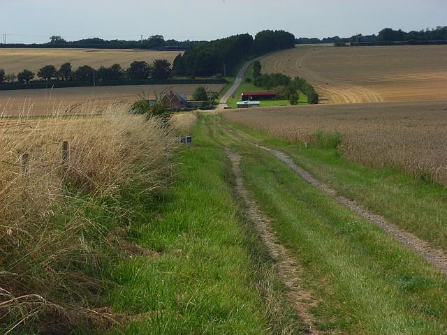 Farmland below Old Sarum