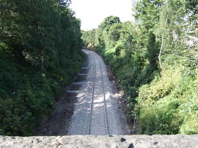 Denby Dale - rail line to Huddersfield