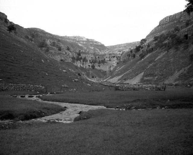 Looking towards Gordale Scar