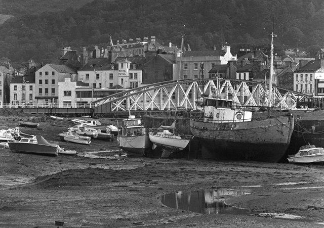 Ramsey Harbour and Swing Bridge, Isle of Man