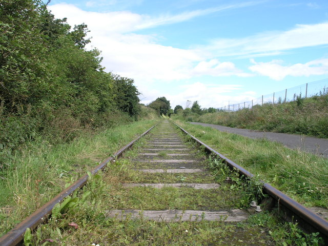Railway Track. Eighton Banks.