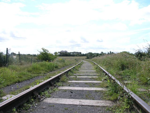 Bend In The Track. Eighton Banks.