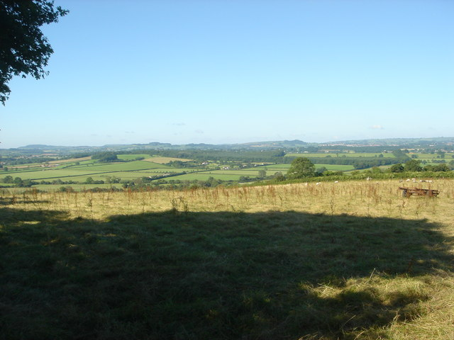 Fields near Cold Harbour Hill