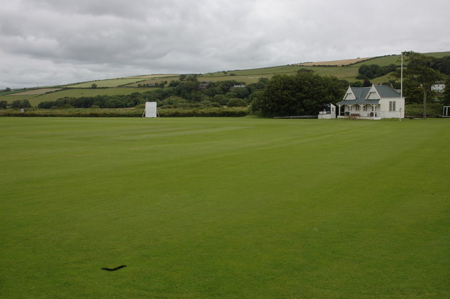 Cricket field at St Bees
