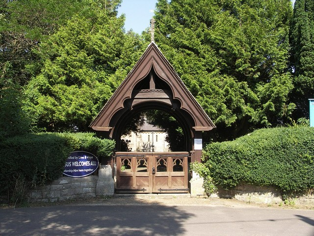 The Lych Gate at St John's Church