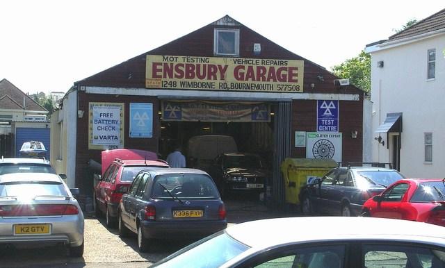 Ensbury Garage