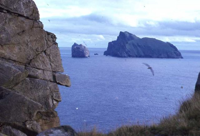 Boreray, from the Gap