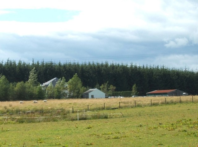 Farm adjacent to Sheriffmuir Inn