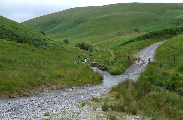 The Ford crossing the Doethie Fach, Ceredigion