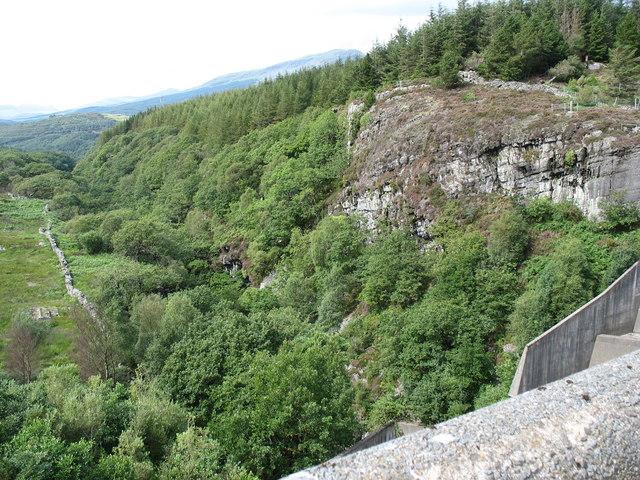 The Ceunant Llennyrch gorge