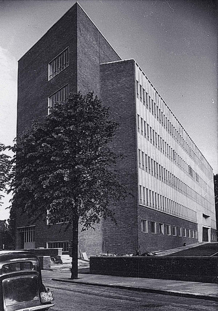 """Telephone House"" in 1954"