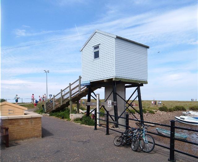 Wells tide recorder station