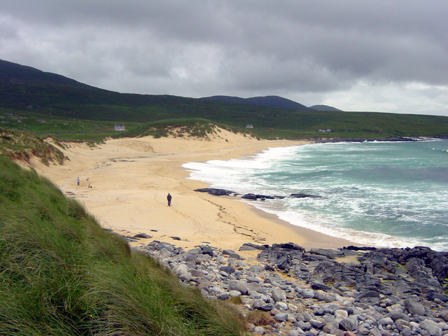 Beach between Borve and Scarista looking South