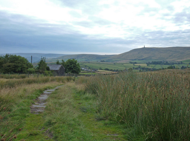 Pennine Bridleway, above Lumbutts