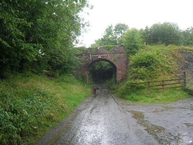 Trequite railway bridge