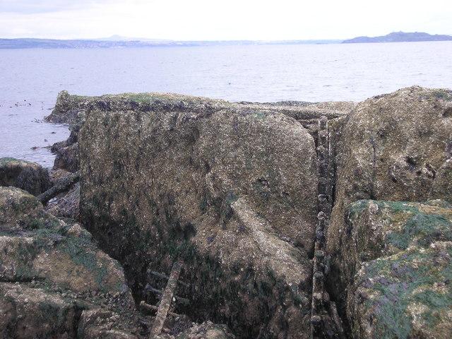 Abandoned Iron Work on Eastern Craigs