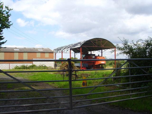 Farm buildings at Tiddicross