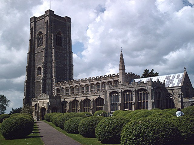 St. Peter and St. Paul, Lavenham