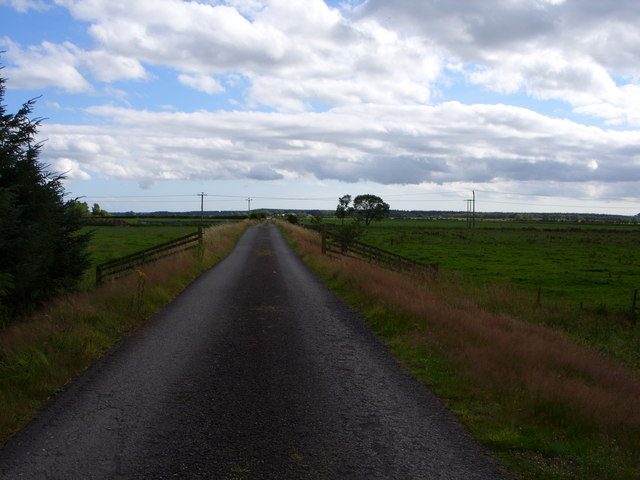 Farm Road to Meikle Carse