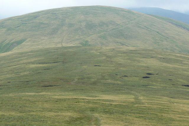Peat Knoll beneath Hazelgill Knott