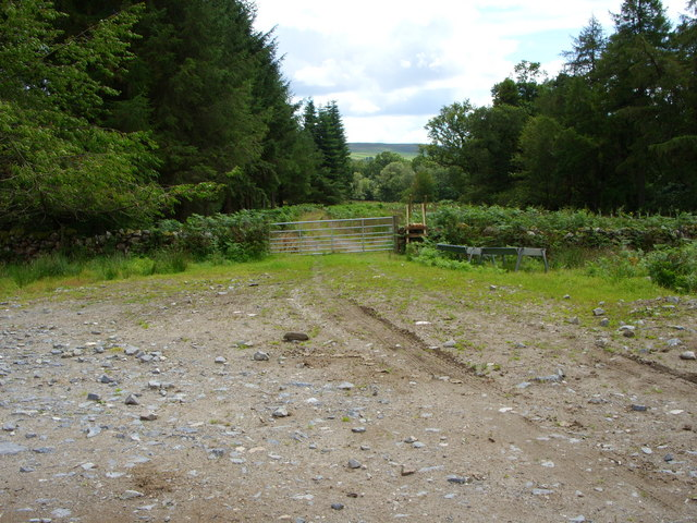 Track leading to Cairnsmore House